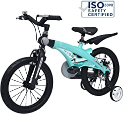 R for Rabbit Tiny Toes Jazz Bicycle- The Smart Plug and Play Kids Cycle (14 inch/T - for Kids 3-5 Years)