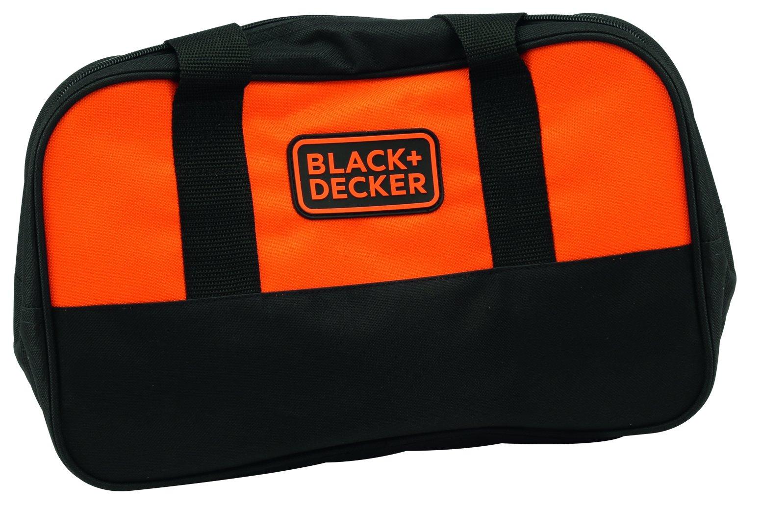 BLACK+DECKER BCG720M1-QW – Amoladora 125mm con batería de litio 18V (4Ah) y bolsa de transporte