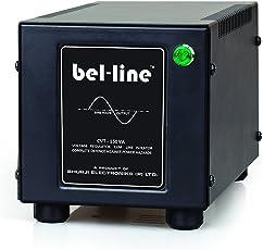 Bel-Line Cvt 150Va Voltage Stabilizer For Led Tv Upto 42 Panel + Dth , Dvr / Led Lightnings (Black)
