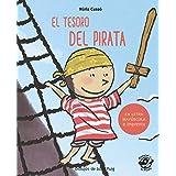 El tesoro del pirata: En letra MAYÚSCULA y de imprenta: libros para niños de 5 y 6 años (Aprender a leer en letra MAYÚSCULA e