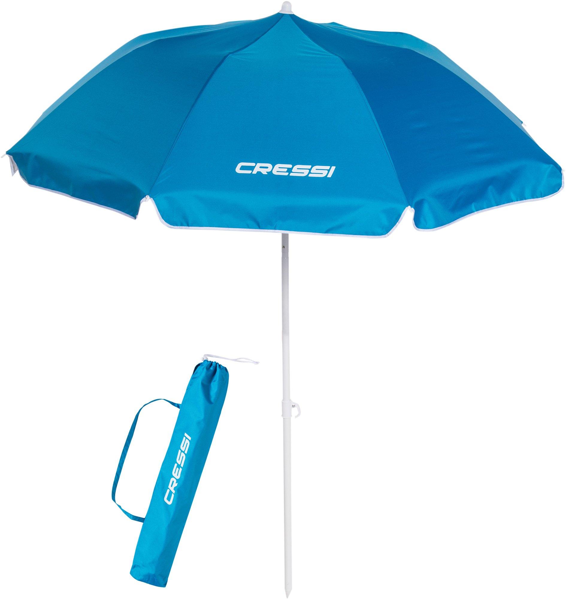 Cressi Premium Beach Umbrella Portable with Folding 4