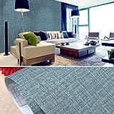 PVC waterdicht zelfklevend behang textielachtig patroon kleeffolie waterdicht behang 10 x 0,6 m decoratief peel stick behang