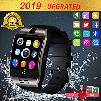 Montre Tactile ZKCREATION smartwatch Bluetooth Montre Intelligente Montre Telephone Montre