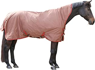 Kerbl 328670 Protect Outdoordecke SuperHighNeck, Darkbrown/red