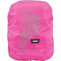 Step by Step Regen-/Sicherheitshülle, reflektierend, pink, passend für alle Schulranzen und Tornister, schützt vor Regen…