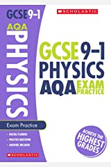 GCSE Physics AQA Practice Book. Perfect for Home Learning and includes a free revision app (Scholastic GCSE Grades 9-1 Revision and Practice) Paperback