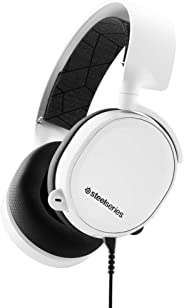 SteelSeries Arctis 3 - Gaming Headset voor alle platforms - PC, PlayStation 4, Xbox One, Nintendo Switch, VR, Mobiel - Wit P