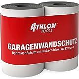 ATHLON TOOLS 2x FlexProtect garagewandbeschermer, telkens 2 m lang, extra dikke autodeurrandbeschermer, zelfklevend, waterafs