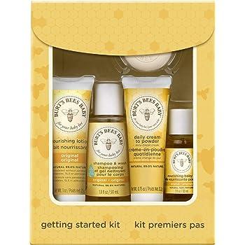 Burt S Bees Baby Bee Getting Started Gift Set Amazon Co