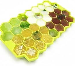Home Cube Silicone Honeycomb Cake Chocolate Mold Ice Cream Tools Ice Cube Tray Bee Honey Kitchen Diy Baking Tools
