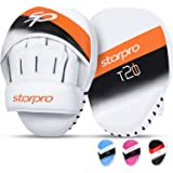 Starpro Boxing Mitts - Vegan Leather - Boxing Pads for Coaching in Boxing MMA Kickboxing and Martial Arts - Men & Women - Tra