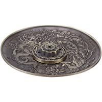 Walfront FengShui - Bastoncini di incenso, in bronzo cinese cinese Dragon Phoenix, stile vintage