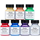 Angelus ANGELUS Pearlescent Cuero ACRILICO Pintura Kit Completo 1 OZ (Original Version)