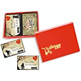 Vantagekart 100 Romantic Cards Why I Love You with Reasons Which is Ideal for Valentine Day, Husband/Wife/Girlfriend/Boyfrien