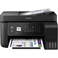 Epson EcoTank ET-4700 Stampante Multifunzione Inkjet a Colori 4-in-1, Stampa, Scansione, Copia, Fax, Funzionalità ADF ed…