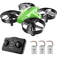ATOYX Mini Drone per Bambini 66C,3 velocità 3D Flip Protezioni a 360°, Funzione di Sospensione Altitudine ,modalità Headless ,Miglior Regalo(Verde)