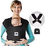 Baby K'tan Katoen Zwart Breeze Draagtas (XL)
