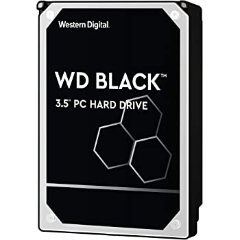 "WD Black - Disco duro de alto rendimiento para ordenadores de sobremesa de 1 TB (7200 rpm, SATA a 6 Gb/s, 64 MB de caché, 3,5"")"