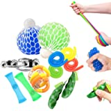 OKSANO Juguetes Sensoriales antiestres 12Pcs, Juguetes Autismo Fidget para niños y Adultos Fiddle Toys for ADHD, Pelota antie