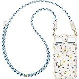 takyu Handy Umhängetasche damen, Kleine Handytasche zum umhängen mit Kartenfächer PU Leder + Transparente Einlage für Handy u