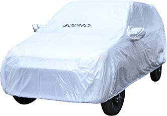 Amazon Brand - Solimo Maruti Alto Waterproof Car Cover (Silver)