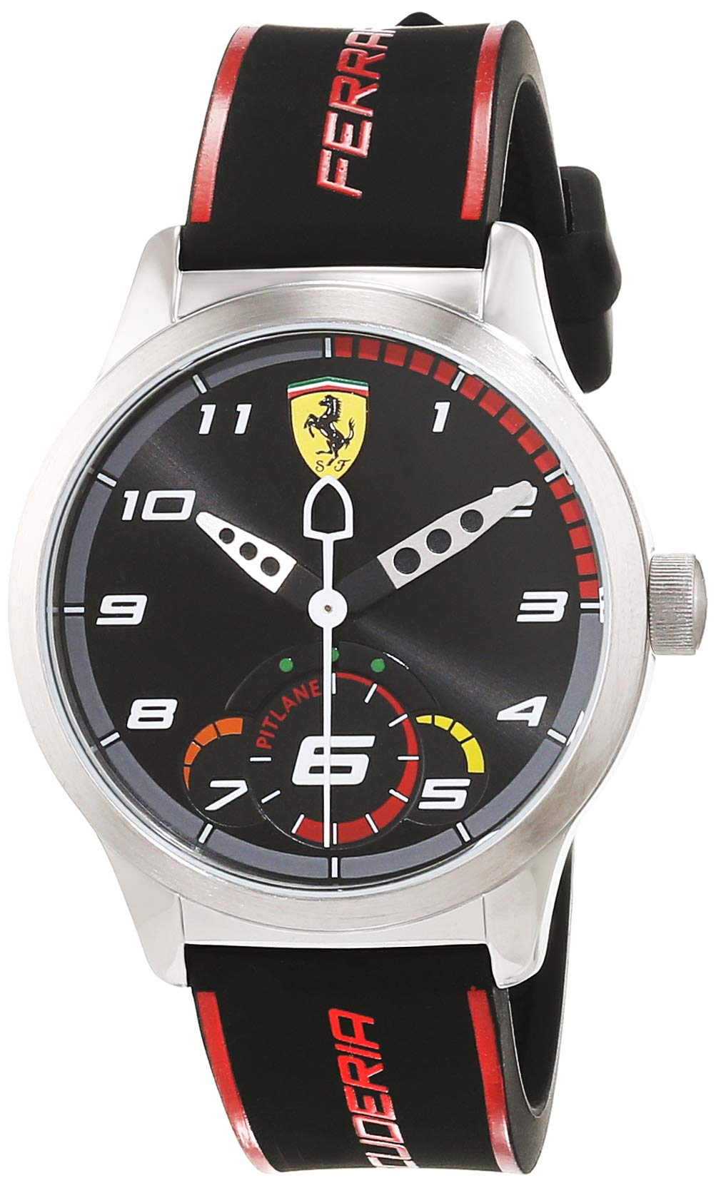 Scuderia Ferrari Reloj de pulsera Analógico Para Unisex Niños de Cuarzo con Correa en Silicona 860003