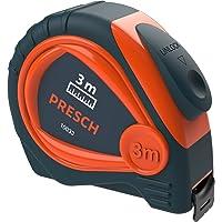 Presch flessometro professionale e robusto da 3m con clip solida da fissare alla cintura e sistema auto-avvolgimento