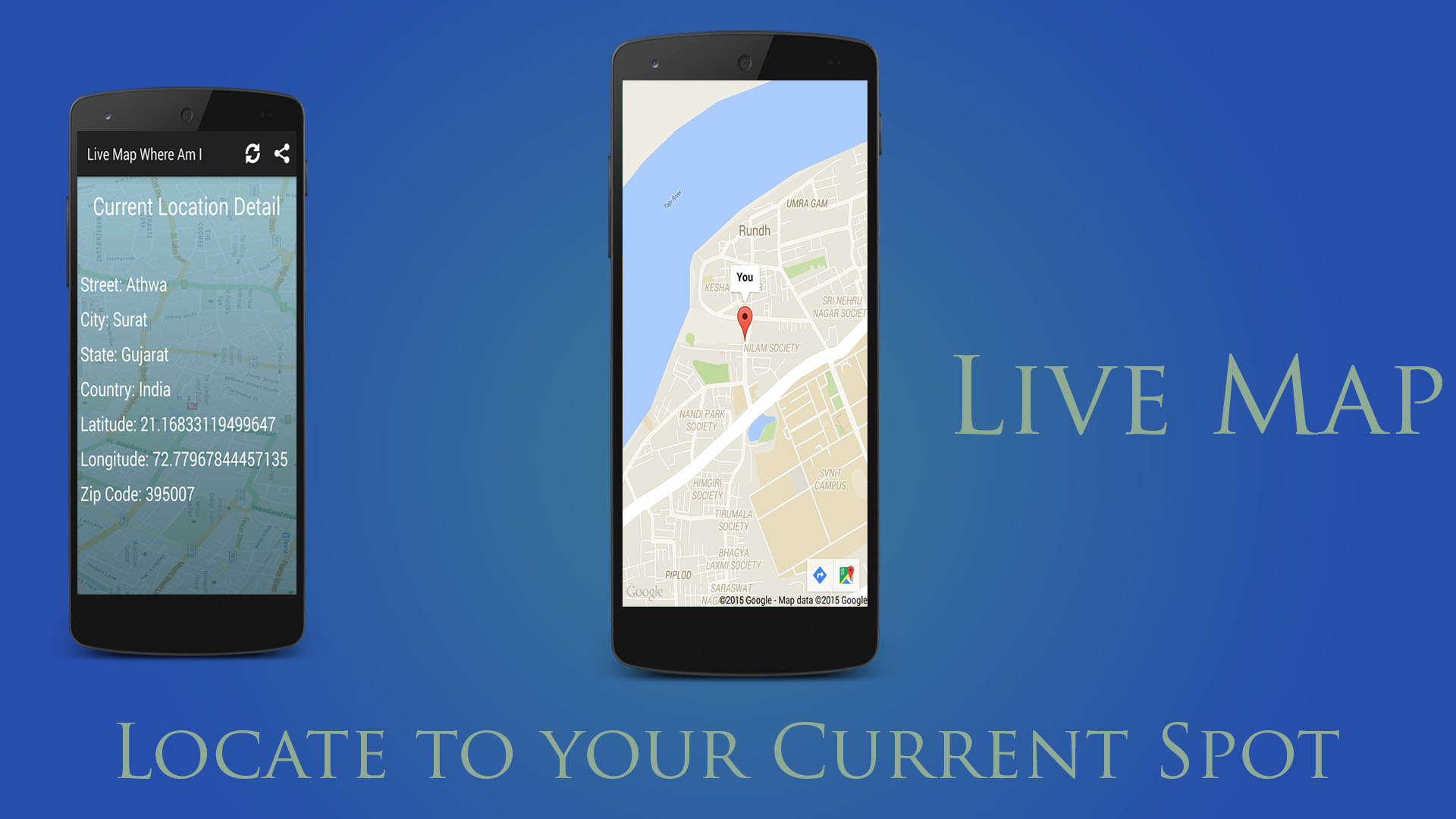 Live Map Where Am I Amazon De Apps Fur Android