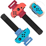 MENEEA Braccialetti per Just Dance 2021 2020 2019 per Nintendo Switch Controller Game, Comodo Elastico Regolabile Nintendo Sw