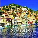 Greek Islands 7 x 7 Mini Wall Calendar 2021: 16 Month Calendar