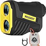 Golf Afstandsmeter, Mileseey 600M Golf Range Finder ± 0.5m Nauwkeurigheid met USB Opladen, 6x Vergroting voor Jacht Toernooi,