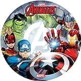 Generique - Disco di Ostia a Tema Avengers