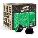 Note d'Espresso - Thé Matcha Mint Liquorice - Capsules Exclusivement Compatibles avec les Machines NESCAFE* DOLCE GUSTO* - 48