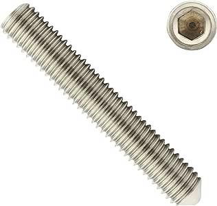 ISO 4026 DIN 913 M6x35 - - SC913 Gewindestifte mit Kegelkuppe und Innensechskant Antrieb - aus rostfreiem Edelstahl A2 V2A - Madenschrauben 50 St/ück