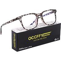 Occffy Occhiali Luce Blu con Anti UV Eyestrain Occhiali Anti Luce Blu per PC, Tablet, Gaming e TV Uomo Donna Oc092…