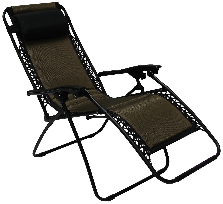 RoyalCraft Padded Zero Gravity Relaxer Brown Amazon