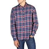 HKT by Hackett Hkt Blue and Red Plaid Camisa para Hombre