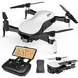 EACHINE EX4 Drone con Camara 4k GPS Profesional 25Minutos 3KM RC Distancia 21.6km/h Alta Velocidad Drone Gimbal 3 Ejes Brushl