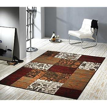 Teppich Orientalisch Terra / Rot / Beige / Brau Moderner Teppich   Als  Markantes Accessoire In