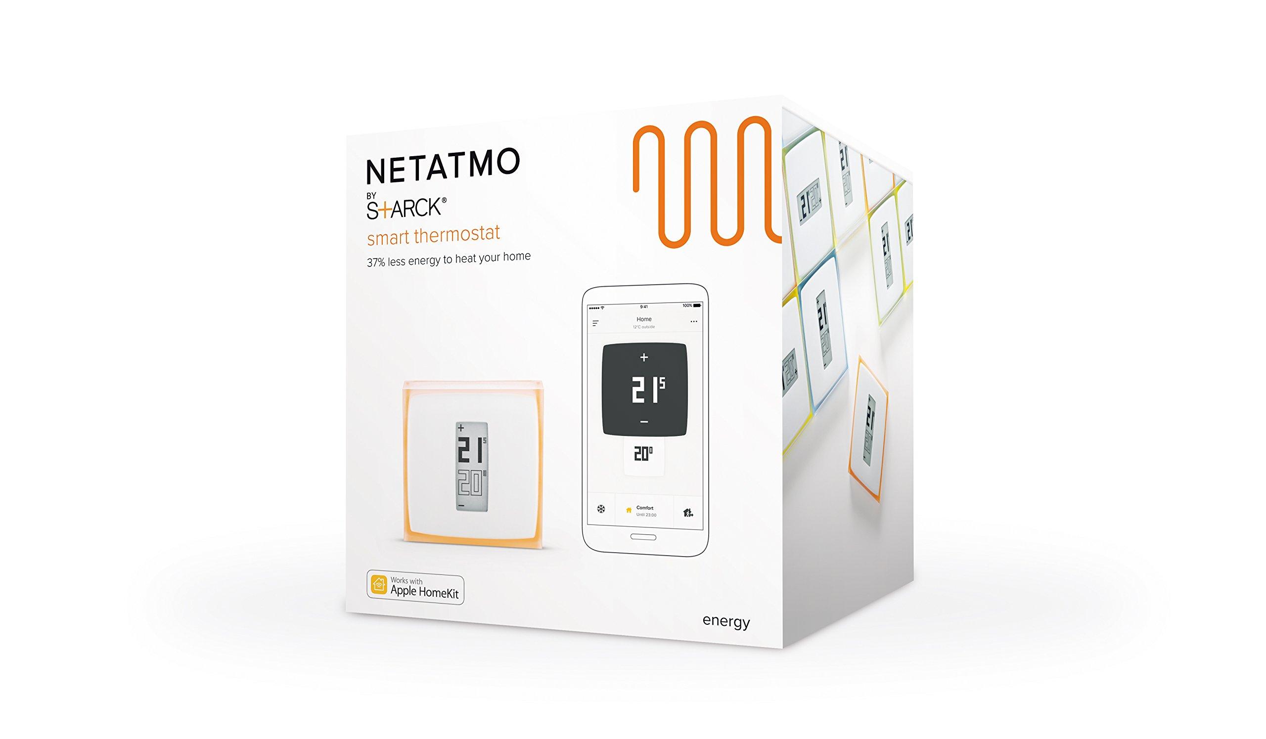 Netatmo INK010 Termostato Smart Controllabile da Smartphone