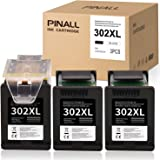 PINALL Cartucce d'inchiostro compatibili HP 302XL 302 XL Per HP DeskJet 3630 3639 OfficeJet 3831 3830 3833 OfficeJet 5230 523