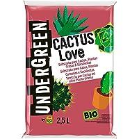 Undergreen CACTUS Love, Terriccio per Cactus e altre Piante Grasse da appartamento o Balcone, Consentito in Agricoltura…