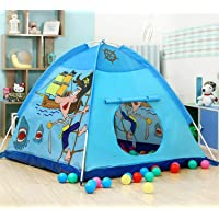 Pirate Foldable Kids Play Tent House with Led Light Jumbo Size Light Weight, Water Proof Kids Play Tent House for…