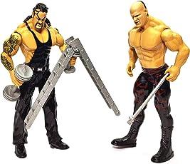 Decor Express WWE Action Figure Toy Set, Set of 2 - Undertaker and Kane