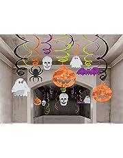 My Party Halloween Swirl Dangler Decoration - Set of 12