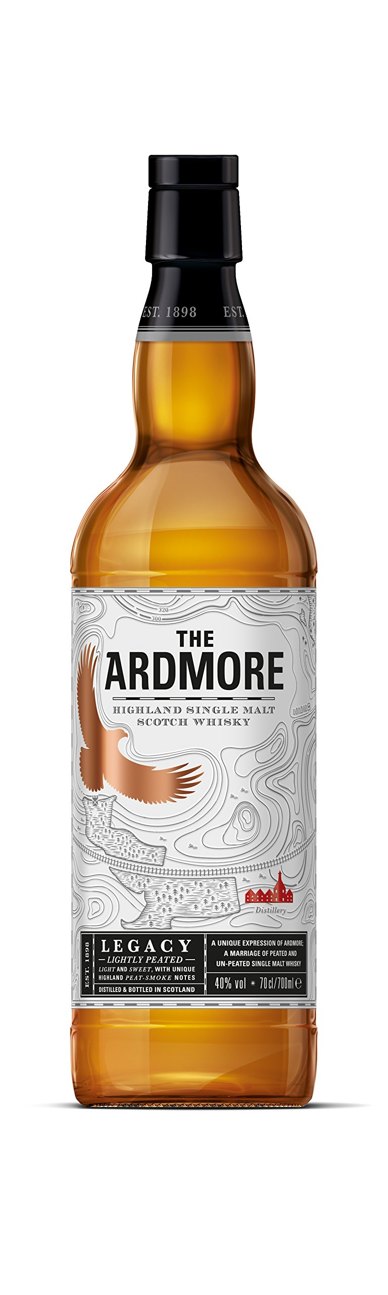 Ardmore Legacy Highland Single Malt Scotch Whisky, 70 cl