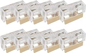 Portafusibili PCB 10 Pezzi//Set Custodia Portafusibili PCB per Montaggio A Pannello con Coperchio Compatibile con 5x20mm 250V 6A