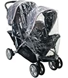 RAINCOVER TO FIT GRACO TOUR DUO TANDEM TWIN