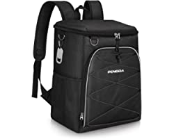 PENGDA Cool Bag Rucksack - 29 Cans Insulated Backpack Large Capacity Lightweight Waterproof Cooler Bags for Camping Hiking Lu