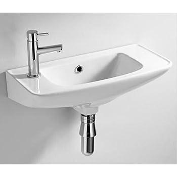 Mini mobiletto da parete per bagno con bacinella piccolo - Mobiletto bagno da appendere ...